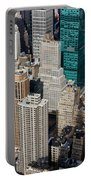 Manhattan Bryant Park Portable Battery Charger by Jannis Werner