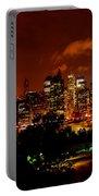 Manhattan Night Skyline Portable Battery Charger
