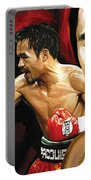 Manny Pacquiao Artwork 2 Portable Battery Charger