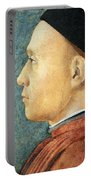 Mantegna's Portrait Of A Man Portable Battery Charger