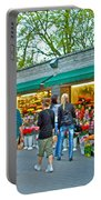 Many Flower Shops In Tallinn-estonia Portable Battery Charger