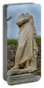 Many Sculptures Lost Their Heads In Ephesus-turkey Portable Battery Charger