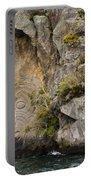 Maori Rock Art Portable Battery Charger