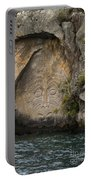 Maori Rock Carving Portable Battery Charger
