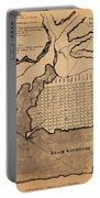 Map Of Alexandria 1798 Portable Battery Charger