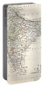 Map Of India Portable Battery Charger