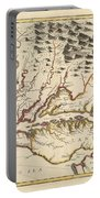Map Of Maryland 1676 Portable Battery Charger
