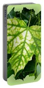 Maple Leaf In The Laurel Portable Battery Charger