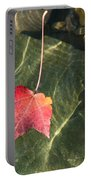 Maple Leaf On Water Portable Battery Charger