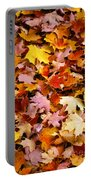 Maple Leaves Portable Battery Charger