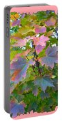Maple Magnetism Painting Portable Battery Charger