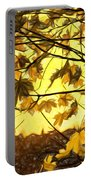 Maple Sunset - Paint Portable Battery Charger