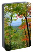Maples Against Lake Superior - Tettegouche State Park Portable Battery Charger