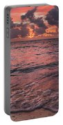 Marathon Key Sunrise Panoramic Portable Battery Charger by Adam Romanowicz