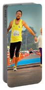 Marathon Of Happiness Portable Battery Charger