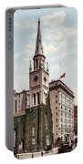 Marble Collegiate Church Holland House New York Portable Battery Charger