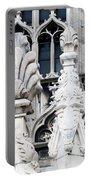 Marble Facade II Duomo Di Milano Italia Portable Battery Charger