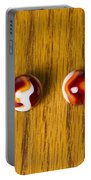 Marbles Red Orange Swirl 1 Portable Battery Charger