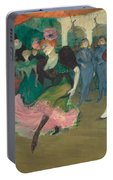 Marcelle Lender Dancing The Bolero In Chilperic Portable Battery Charger
