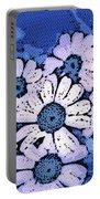March Of The Daisies Portable Battery Charger