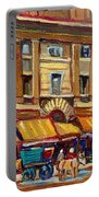 Marche Bonsecours Old Montreal Portable Battery Charger