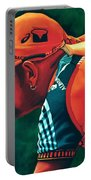 Marco Pantani 2 Portable Battery Charger by Paul Meijering