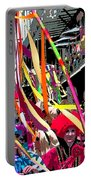 Mardi Gras Marching Parade Portable Battery Charger