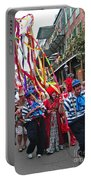Mardi Gras In New Orleans Portable Battery Charger