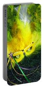 Mardi Gras On Green Portable Battery Charger