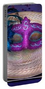 Mardi Gras Theme - Surprise Guest Portable Battery Charger by Mike Savad