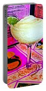 Margarita Time Portable Battery Charger