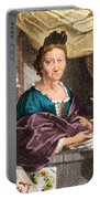 Maria Merian  Portable Battery Charger by Science Source