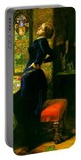 Mariana In The Moated Grange 1851 Portable Battery Charger