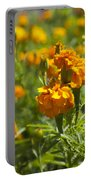 Marigold Flowers Portable Battery Charger