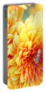Ailanthus Webworm Visits The Marigold  Portable Battery Charger
