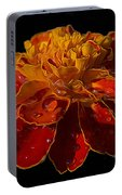 Marigold Tagetes Portable Battery Charger