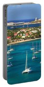 Marigot Harbor St. Martin Portable Battery Charger