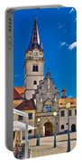 Marija Bistrica Marianic Sanctuary In Croatia Portable Battery Charger