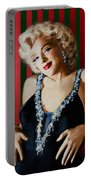 Marilyn 126 D Stripes Portable Battery Charger