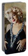 Marilyn 126 Mona Lisa Portable Battery Charger