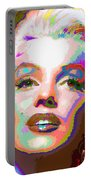 Marilyn Monroe 01 - Abstarct Portable Battery Charger