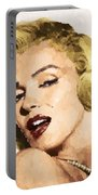 Marilyn Monroe 08 Portable Battery Charger