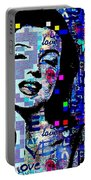 Marilyn Monroe 3 Loved.lost.loved Again Portable Battery Charger