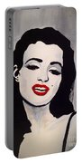 Marilyn Monroe Aka Norma Jean The Beginning Portable Battery Charger