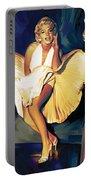 Marilyn Monroe Artwork 3 Portable Battery Charger