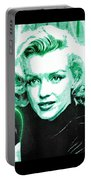 Marilyn Monroe - Green Portable Battery Charger
