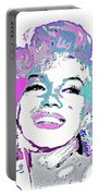Marilyn Monroe I Want To Be Loved By You Portable Battery Charger