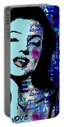 Marilyn Monroe. Loved Lost . Loved Again 2 Portable Battery Charger