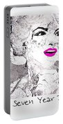 Marilyn Monroe Movie Poster Portable Battery Charger