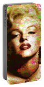 Marilyn Monroe Name Characters Portable Battery Charger